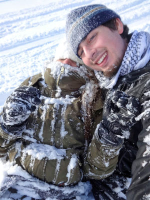 Confianza, día de nieve en Zakopane, Polonia