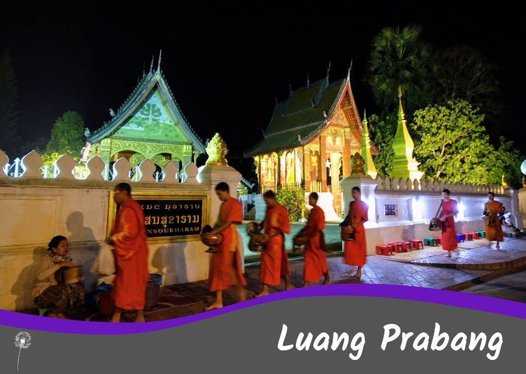 Guía completa de Luang Prabang en Laos: cuántos días ir, qué ver, presupuesto, itinerarios, dónde dormir, cómo llegar y mucho más