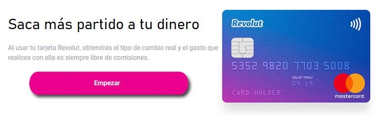 Revolut tarjeta débito gratuita sin comisiones